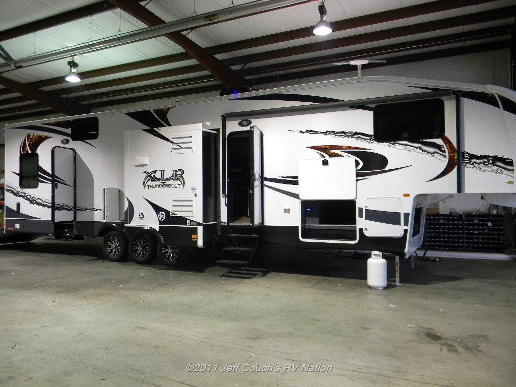 New Toy Hauler 2012 Forest River Xlr 35x12 Thunderbolt