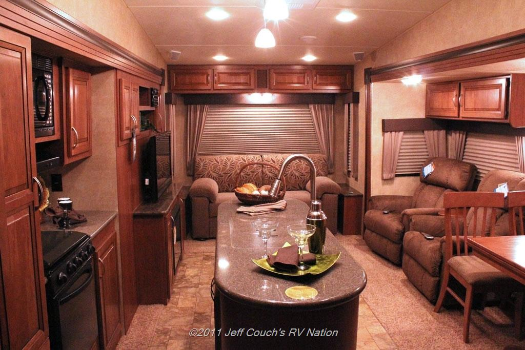 New fifth wheel 2012 forest river wildcat 353ls 5th for 2 bathroom 5th wheel